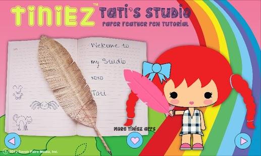 Tiniez DIY Feather Pen Video - screenshot thumbnail