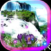 Spring Waterfall LWP