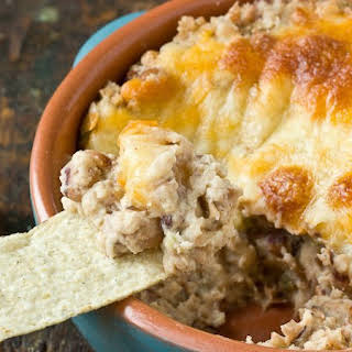 Cheesy Baked Black-Eyed Pea Dip.