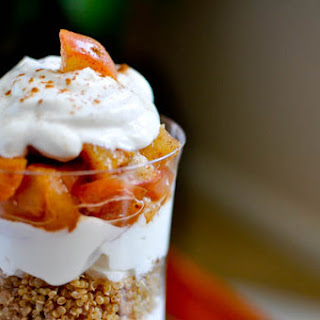 Spiced Quinoa Apple Pie Parfait.