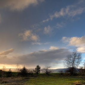 My first HDR by Mischa Firges - Landscapes Weather ( tower, sky, hdr, sunset, landscapes )