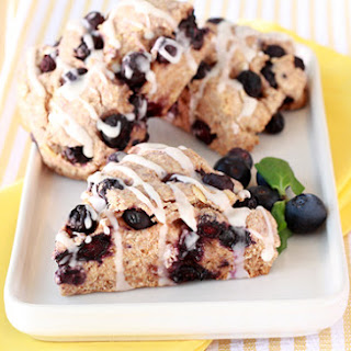 HG's Amazing Iced Blueberry Scones.