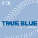 True Blue – Royals Baseball icon