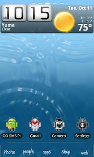 Androidified GO Launcher Theme - screenshot thumbnail