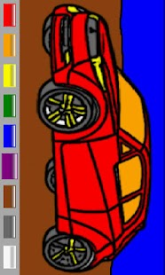 Cars Coloring Book for Kids- screenshot thumbnail