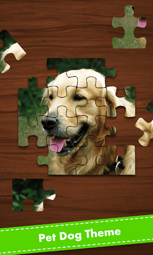 Jigsaw Pet Dog
