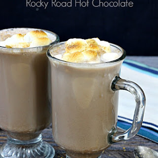 Rocky Road Hot Chocolate.