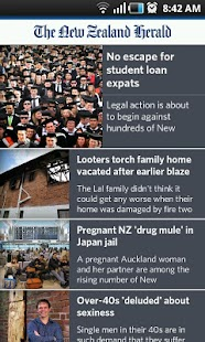 NZ Herald News - screenshot thumbnail