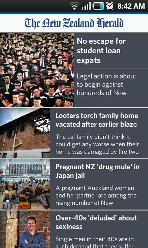 NZ Herald News - screenshot
