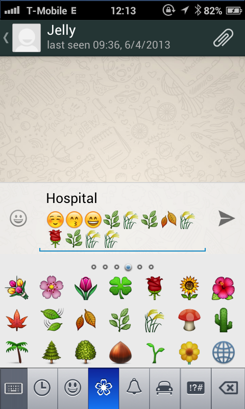 Emoji Keyboard 6 - screenshot