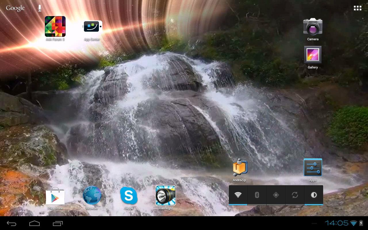 Waterfall Mars Effect- screenshot
