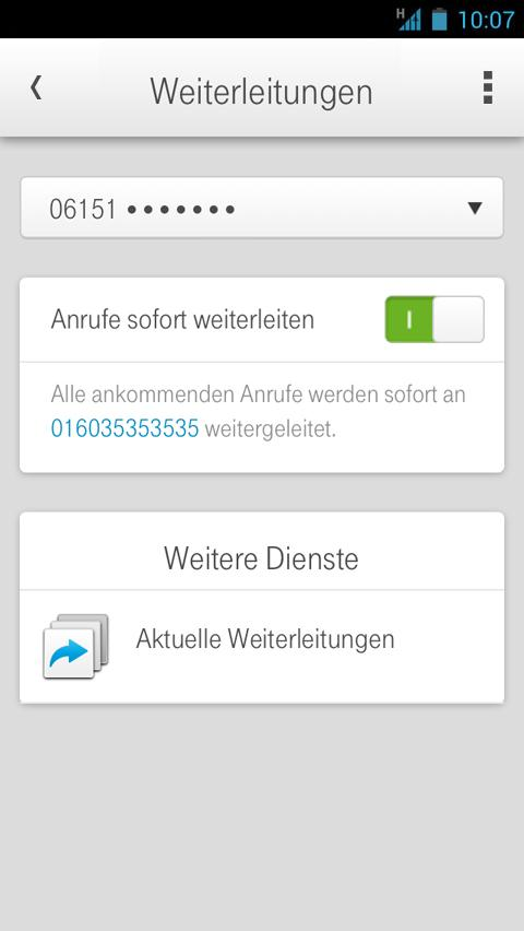 Kundencenter - screenshot