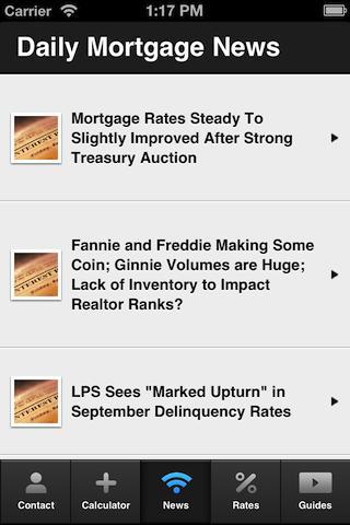 Jeremy House's Mortgage Mapp