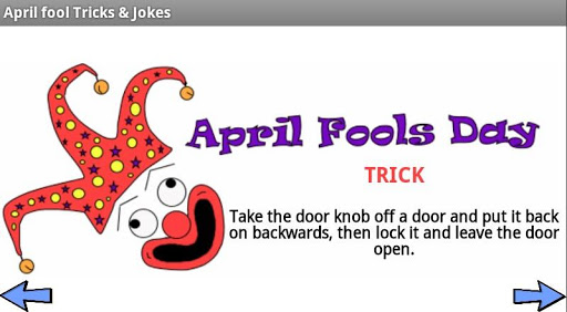 April Fool Tricks Jokes