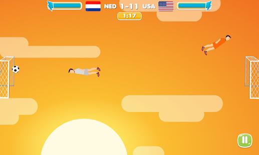 Sky Soccer Free Football Game screenshot