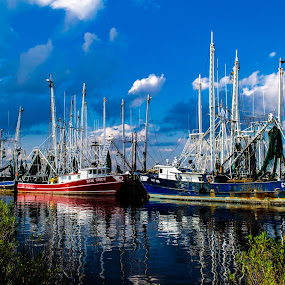 Fishing Boats by RomanDA Photography - Transportation Boats