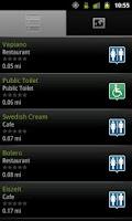 Screenshot of Bathroom Scout Pro
