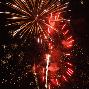 by Tracy Riedel-Dorsch - Public Holidays July 4th ( fireworks, fire, new year, dipawali, diwali, 2014,  )