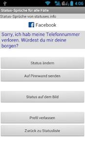 liebe pinnwand sprüche Status Sprüche für alle Fälle – Apps bei Google Play liebe pinnwand sprüche