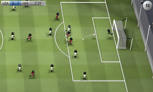 Screenshot 1 Stickman Soccer - Classic 3.1 APK MOD