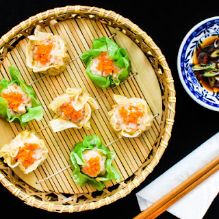 Pork and Shrimp Siu Mai (Steamed Chinese Dumplings)