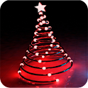 Christmas garlands icon