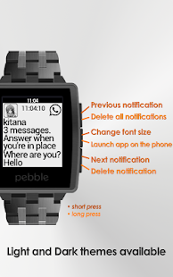 Notify Pebble