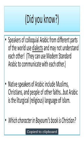 Learn About Arabic
