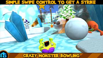 Screenshot of Crazy Monster Bowling