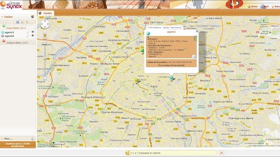 GeoParcours - screenshot thumbnail