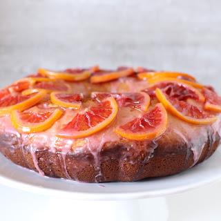 Blood Orange Olive Oil Bundt Cake
