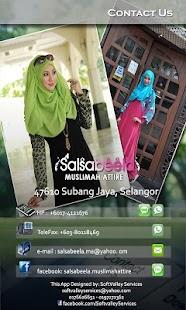 Salsabeela Muslima Attire - screenshot thumbnail
