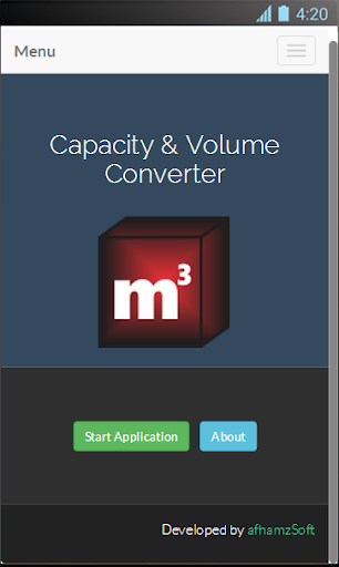 Capacity and Volume Converter
