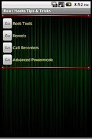Screenshot of Root Hack Tips & Tricks Free