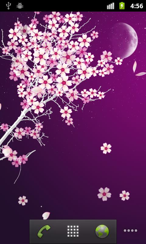 Sakura Pro Live Wallpaper - screenshot