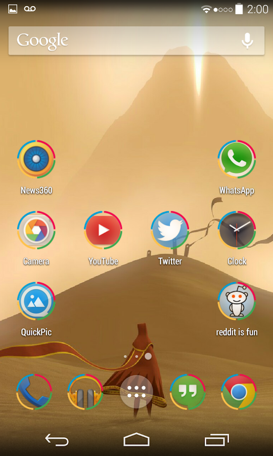 Tiny Translucent Icon Pack - screenshot