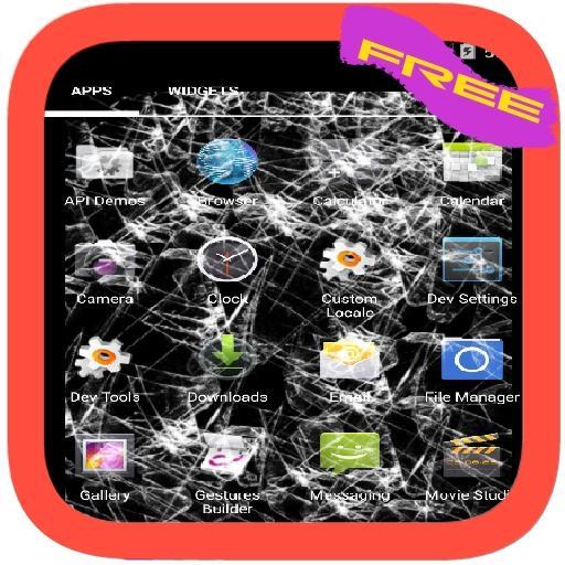 Screen Prank:Crack Your Screen