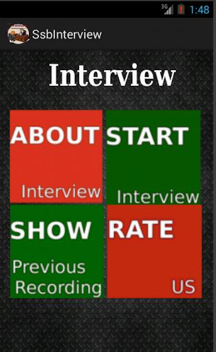 SSB INTERVIEW