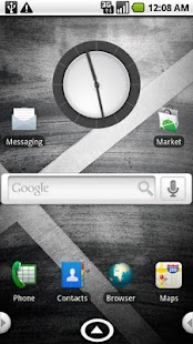 aHome/Open Home Droid X Theme - screenshot thumbnail
