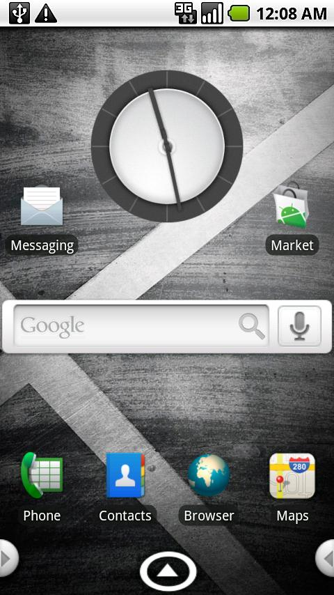 aHome/Open Home Droid X Theme - screenshot
