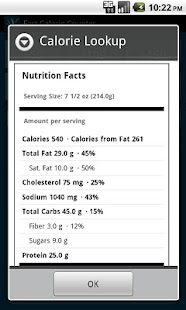 Fast Calorie Counter Pro - screenshot thumbnail