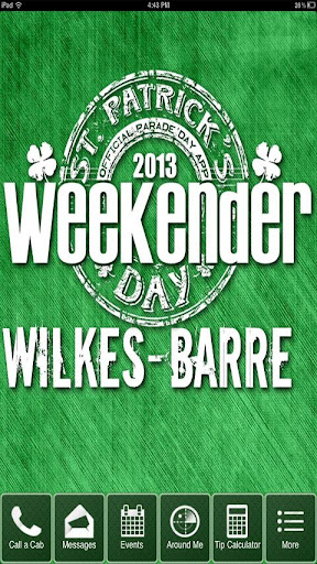 Weekender St.Patricks Day WB