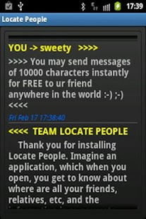 Locate Friends- screenshot thumbnail