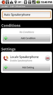 Locale Speakerphone Plug-in - screenshot thumbnail