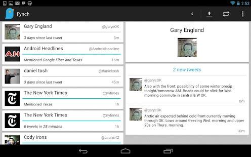 Fynch - A Twitter Extension - screenshot thumbnail