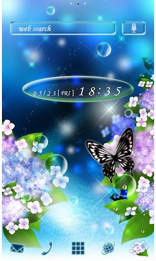 Hydrangea Theme-Rainy Season- 2.0.0 Windows u7528 1