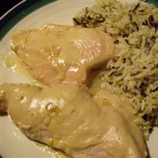 Southern Apricot Chicken.