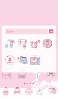 Screenshot of EtudeHouse LINE Launcher theme
