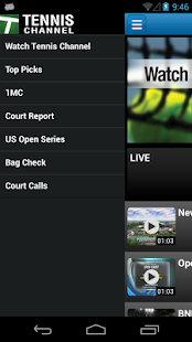Tennis Channel Everywhere - screenshot thumbnail