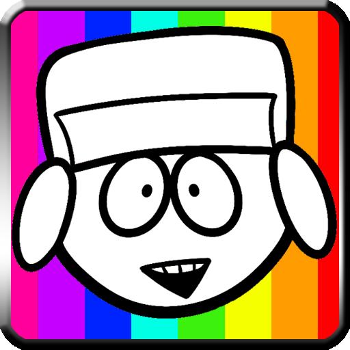 The South Boy Coloring Game LOGO-APP點子